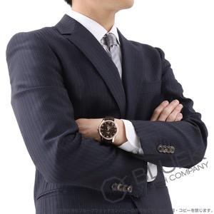 オメガ デビル RG金無垢 アリゲーターレザー 腕時計 メンズ OMEGA 431.53.41.21.13.001