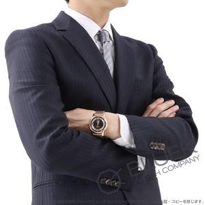 オメガ デビル アワービジョン RG金無垢 腕時計 メンズ OMEGA 431.60.41.21.13.001
