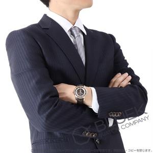 オメガ デビル アワービジョン RG金無垢 アリゲーターレザー 腕時計 メンズ OMEGA 431.63.41.21.13.001