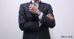 オメガ デビル コーアクシャル ラトラパンテ クロノグラフ ダイヤ アリゲーターレザー 腕時計 メンズ OMEGA 4642.72.31