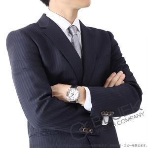 オメガ デビル コーアクシャル クロノスコープ ラトラパンテ クロノグラフ アリゲーターレザー 腕時計 メンズ OMEGA 4847.30.31