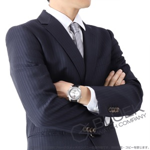 オメガ デビル コーアクシャル クロノスコープ ラトラパンテ クロノグラフ アリゲーターレザー 腕時計 メンズ OMEGA 4848.40.31