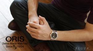 オリス クラシック 腕時計 メンズ ORIS 733 7594 4394