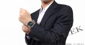 オリス ビッグクラウン サテンレザー 腕時計 メンズ ORIS 733 7705 4164DOL