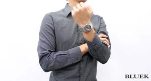 オリス アートリエ トランスルーセント スケルトン 腕時計 メンズ ORIS 734 7684 4051M