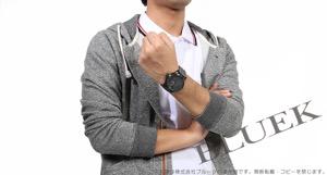 オリス ビッグクラウン サテンレザー 腕時計 メンズ ORIS 735 7698 4783D