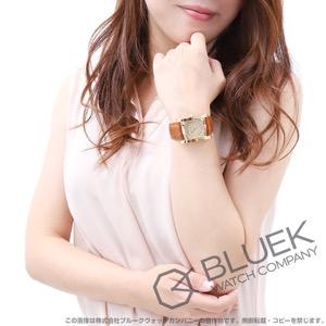 ブルガリ アショーマ YG金無垢 アリゲーターレザー 腕時計 ユニセックス BVLGARI AA39C13GLD