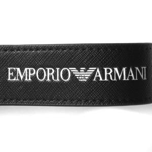 エンポリオアルマーニ キーリング/キーホルダー アクセサリー メンズ イーグルマーク sustainability project ブラック Y4R284 Y020V 81072 2021年春夏新作 EMPORIO ARMANI
