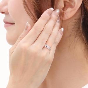グッチ リング【指輪】 アクセサリー レディース GGアイコン ホワイトゴールド 414006 J8500 9000 GUCCI