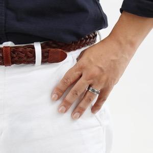 グッチ リング【指輪】 アクセサリー メンズ レディース ダブルG シルバー 551899 J8400 0811 GUCCI