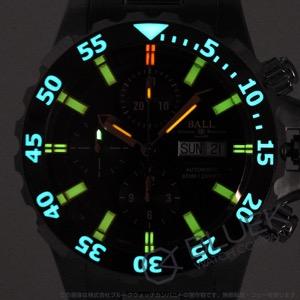 ボールウォッチ エンジニア ハイドロカーボン ネドゥ クロノグラフ 600m防水 腕時計 メンズ BALL WATCH DC3026A-SCJ-BK
