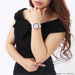 ブルガリ ブルガリブルガリ ダイヤ サテンレザー 腕時計 レディース BVLGARI BB33WSL/D