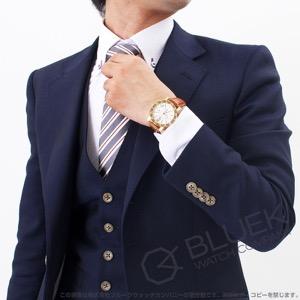 ブルガリ ブルガリブルガリ クロノグラフ YG金無垢 アリゲーターレザー 腕時計 メンズ BVLGARI BB38WGLDCH