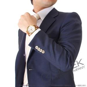 ブルガリ ブルガリブルガリ クロノグラフ YG金無垢 アリゲーターレザー 腕時計 メンズ BVLGARI BB42WGLDCH
