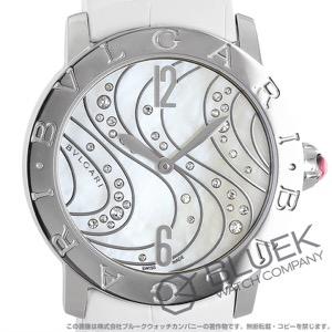 ブルガリ ブルガリブルガリ ダイヤ アリゲーターレザー 腕時計 レディース BVLGARI BBL37WCDSL