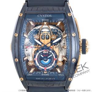 クストス チャレンジ シーライナー GMT 腕時計 メンズ Cvstos CVT-SEA-GMT-CP-5N BLST