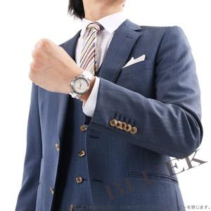 ブルガリ ディアゴノ クロノグラフ ダイヤ アリゲーターレザー 腕時計 ユニセックス BVLGARI DG35WSLDCH/9