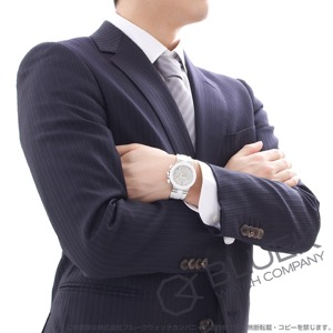 ブルガリ ディアゴノ セラミック クロノグラフ ダイヤ 腕時計 ユニセックス BVLGARI DG37WSCVDCH/8