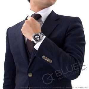 ブルガリ ディアゴノ ヴェロチッシモ クロノグラフ アリゲーターレザー 腕時計 メンズ BVLGARI DG41BSLDCHTA