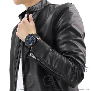 エドックス クロノオフショア1 クロノグラフ 500m防水 腕時計 メンズ EDOX 01114-37N-BUIN