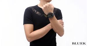 エドックス クロノオフショア1 クロノグラフ 300m防水 腕時計 メンズ EDOX 10020-37N-NV