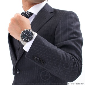 エドックス クロノオフショア1 クロノグラフ 300m防水 腕時計 メンズ EDOX 10021-3-NBU