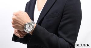エドックス デルフィン クロノグラフ 腕時計 メンズ EDOX 10106-3-AIN