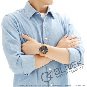エドックス クロノオフショア1 シャークマンII 世界限定300本 クロノグラフ 1000m防水 替えベルト付き 腕時計 メンズ EDOX 10234-3O-NIN