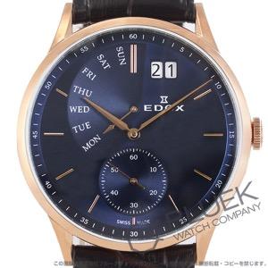 エドックス レ・ボベール レトログラード 腕時計 メンズ EDOX 34500-37R-BUIR