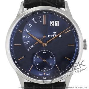 エドックス レ・ボベール レトログラード 腕時計 メンズ EDOX 34500-3-BUIR