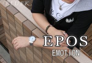 エポス エモーション ムーンフェイズ 腕時計 メンズ EPOS 3391RWHM