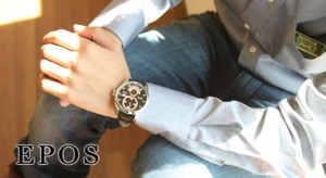 エポス パッション レギュレーター 腕時計 メンズ EPOS 3407BK