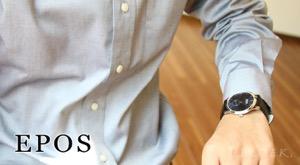 エポス ラウンド 腕時計 メンズ EPOS 3408BL