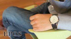 エポス ラウンド 腕時計 メンズ EPOS 3408WH