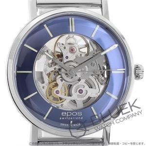 エポス オリジナーレ スケルトン 腕時計 メンズ EPOS 3437SKBLM