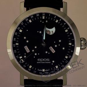 エポス エモーション ナイトスカイ ビッグムーン ムーンフェイズ 腕時計 メンズ EPOS 3440BL