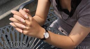 エポス ラウンド 腕時計 レディース EPOS 4401RGPWH
