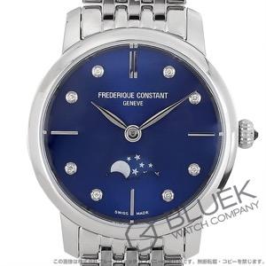 フレデリックコンスタント スリムライン ムーンフェイズ ダイヤ 腕時計 レディース FREDERIQUE CONSTANT 206ND1S26B
