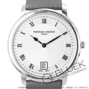 フレデリックコンスタント クラシック スリムライン サテンレザー 腕時計 レディース FREDERIQUE CONSTANT 220M4S36