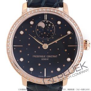 フレデリックコンスタント マニュファクチュール スリムライン ムーンフェイズ スターズ ダイヤ 腕時計 ユニセックス FREDERIQUE CONSTANT 701NSD3SD4