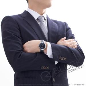 フレデリックコンスタント マニュファクチュール スリムライン ムーンフェイズ クロコレザー 腕時計 メンズ FREDERIQUE CONSTANT 703N3S6