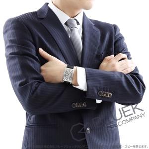 フランクミュラー ロングアイランド クロコレザー 腕時計 メンズ FRANCK MULLER 1000 SC