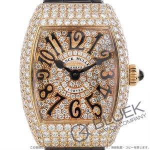 フランクミュラー グレイスカーベックス ダイヤ PG金無垢 クロコレザー 腕時計 レディース FRANCK MULLER 2262 QZ A D CD