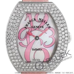 フランクミュラー インフィニティ カーベックス ダイヤ WG金無垢 クロコレザー 腕時計 レディース FRANCK MULLER 3530 QZ A D3