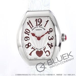 フランクミュラー ハート トゥ ハート クロコレザー 腕時計 レディース FRANCK MULLER 5002 S QZ C 6H
