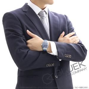 フランクミュラー トノーカーベックス マリナー クロコレザー 腕時計 メンズ FRANCK MULLER 7080 SC DT MAR[FM7080SCMASSBLENBL]
