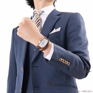 フランクミュラー トノーカーベックス グランギシェ PG金無垢 クロコレザー イタリア限定150本 腕時計 メンズ FRANCK MULLER 7880 S6 GG AT