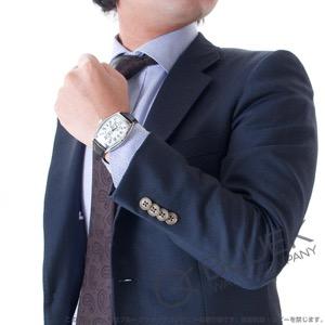 フランクミュラー トノーカーベックス グランギシェ クロコレザー イタリア限定150本 腕時計 メンズ FRANCK MULLER 7880 S6 GG AT