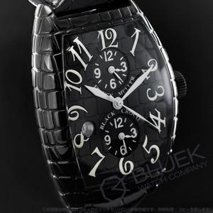 フランクミュラー トノーカーベックス ブラッククロコ マスターバンカー デイト クロコレザー 腕時計 メンズ FRANCK MULLER 8880 MB SC DT BLK CRO