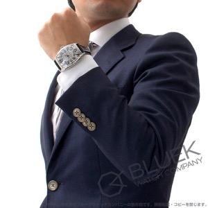 フランクミュラー トノーカーベックス アイアンクロコ クロコレザー 腕時計 メンズ FRANCK MULLER 8880 SC IRON CRO